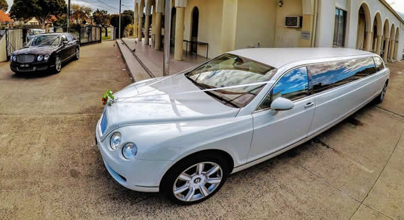 Bentley Luxury Wedding Vehciles