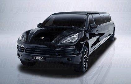 Black Porsche Limo