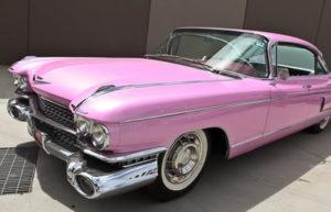 1959 Pink Cadillac Fleetwood