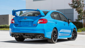 WRX STI Hyper Blue Special Edition
