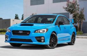 2016 Wrx Sti Hyper Blue Special Edition