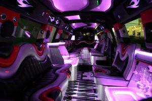 The Black Stallion Hummer H4 Limousine