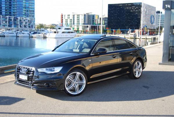 Audi A8 Sedan Black
