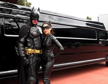 Seats up to 16 passengers in Batman themed interior