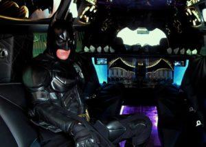 Black Batman Hummer
