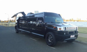 Black Batman Hummer