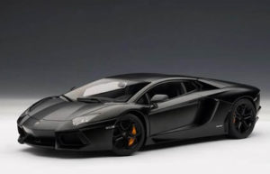 Lamborghini Aventador – Black