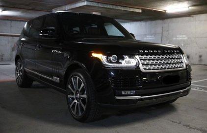 Black Range Rover Autobiography