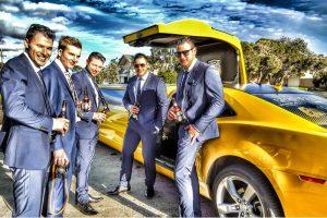 bumblebee limo bucks party