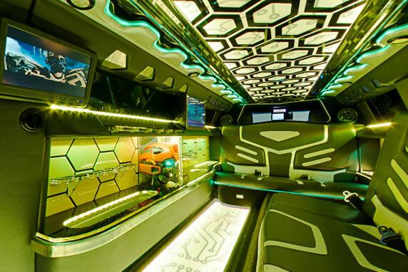 bumblebee-limo-interior