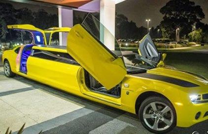 Camaro Transformers Bumblebee Limo