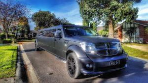 Viper Matte Black Dodge Nitro SUV Limo