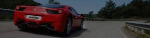 Ferrari Cruising On Road