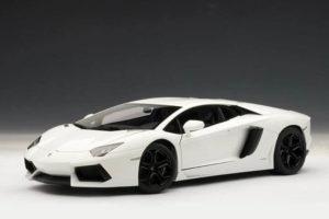 Lamborghini Aventador White-1