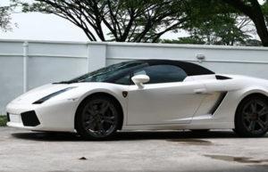 Lamborghini Gallardo – Pearl White