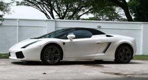 Lamborghini Gallardo Pearl White