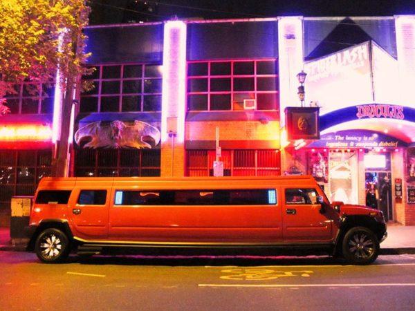 Pink Lady Hummer Limousine