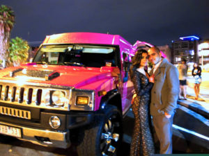Pink Lady Hummer Limousine