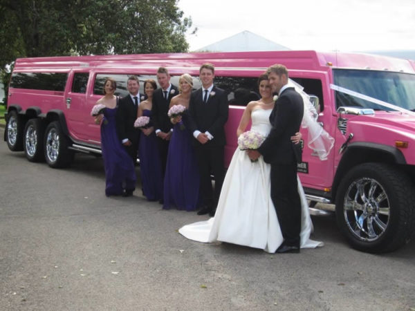 Pink Panther Stretch Hummer