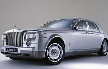 Rolls Royce Phantom - Silver