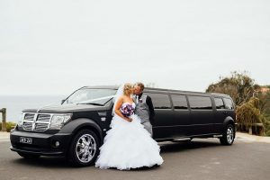 Black Dodge Nitro SUV Limo