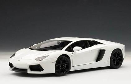 Lamborghini Aventador – White