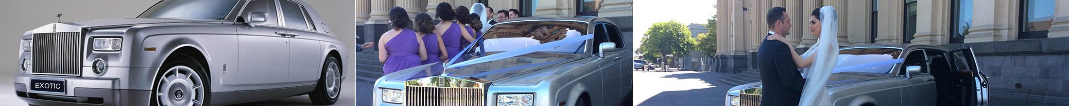 Rolls Royce Phantom – Silver