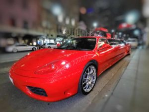 Ferrari Curved Left Front End