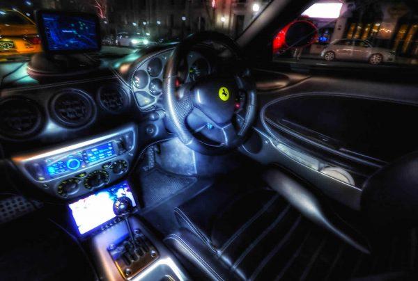 Ferrari Driver Cabin Interior