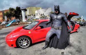 Ferrari Limo with Batman