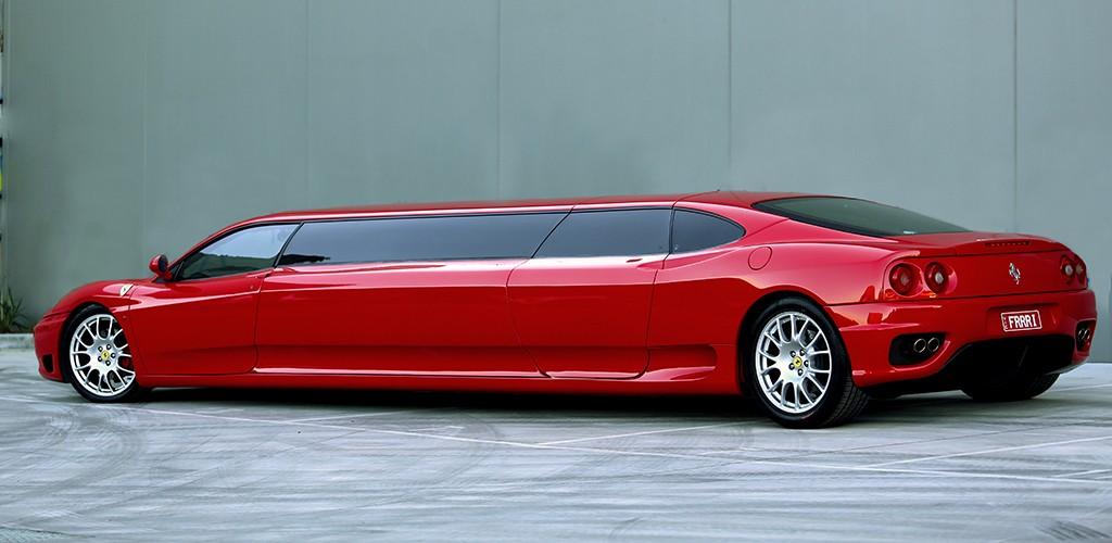 Ferrari Stretch Limousine Melbourne - Worlds Fastest Stretch