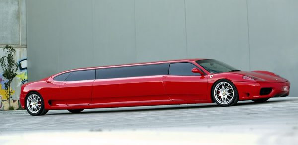 Ferrari Stretch Limousine