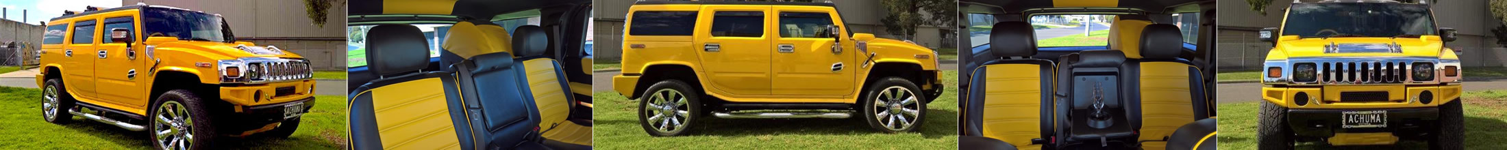 The Tiger Yellow Hummer