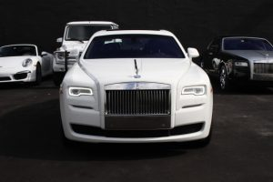 White Rolls Ghost Royce Melbourne
