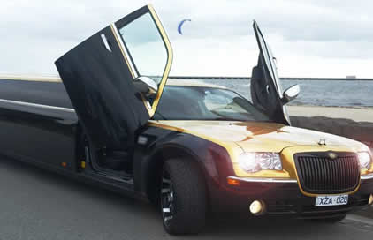 Black Chrysler Golden Dragon
