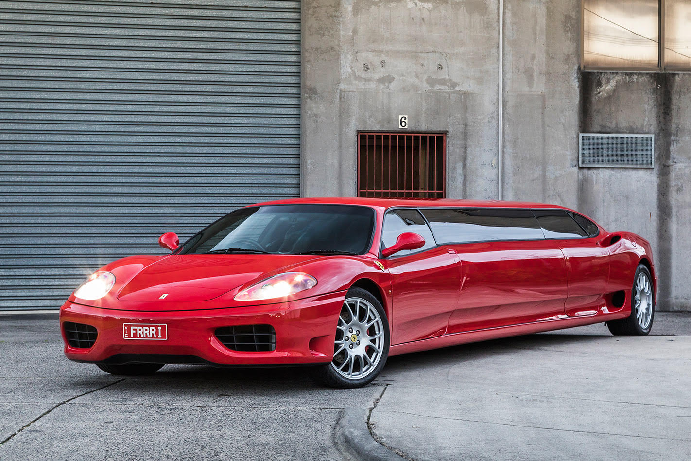 Ferrari Stretch Limousine Melbourne Worlds Fastest Limo